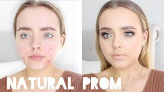 Natural PROM Makeup Look | Acne Coverage | Conagh Kathleen