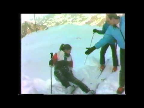 Video Ski Lessons 1982 on Glacier Des Diablerets Reusch Suisse/Switzerland.