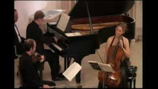 The Leonore Trio plays Schubert  Adagio