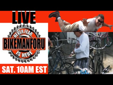 "BikemanforU LIVE 9/26/15 ""Annual Rental Bike SALE"" S3E38"