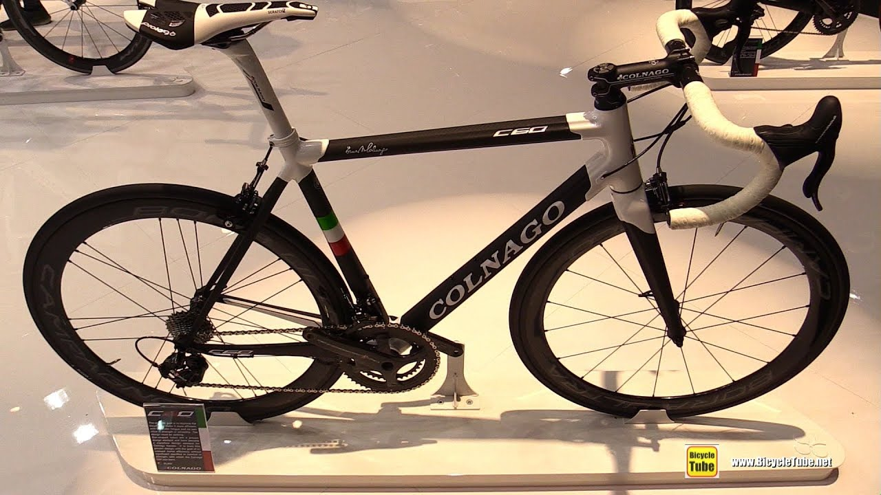 7a08bad5b69 2018 Colnago C60 Road Bike - Walkaround - 2017 Eurobike - YouTube