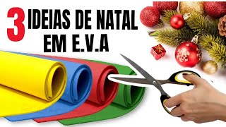 3 IDEIAS INCRÍVEIS!!! PARA VENDER, DECORAR OU PRESENTEAR NO NATAL| SHOW DE ARTESANATO