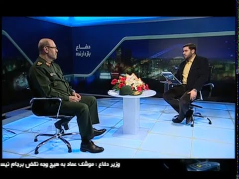 Iran IRIB2 DM Gen Dehghan defence projects: Karrar MBT, Su-3