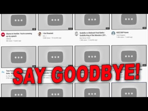"YouTube Plans to Delete All Content that ""Doesn't Make Money"" by Next Month"