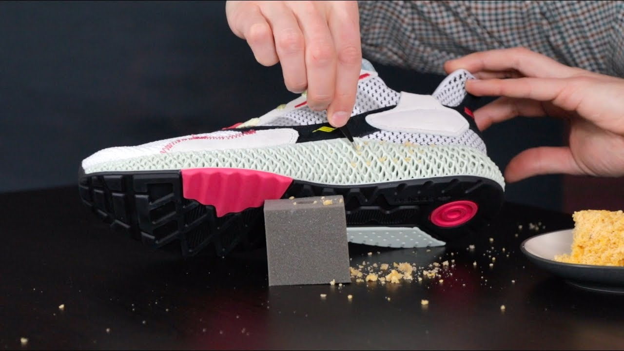 online retailer ef0b6 55130 adidas ZX 4000 4D: Can You Clean the Midsole?