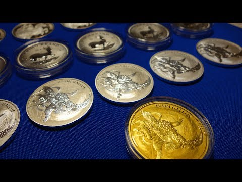 Gold and Silver Bullion Stack Update for January 2018