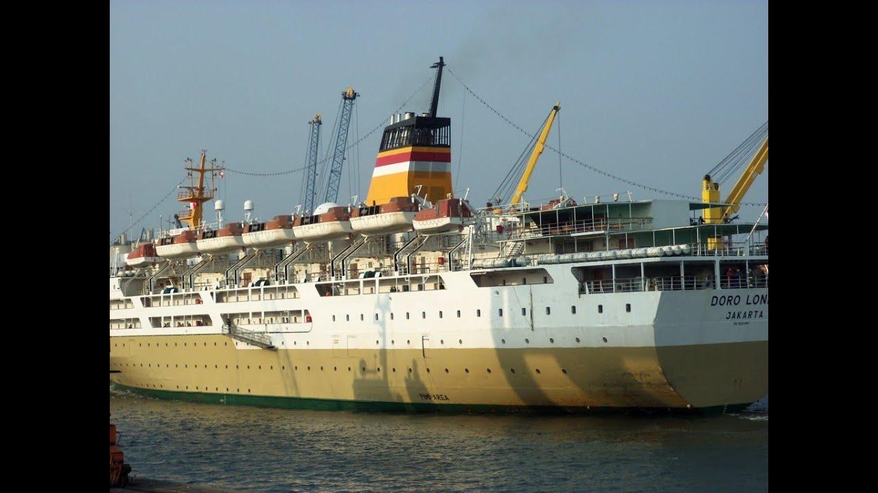 Pelni Ship Km Dorolonda Berlayar Dari Tanjung Pinang Jakarta Ambon Sampai Manado