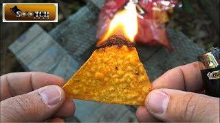Flammable Food Survival Hacks