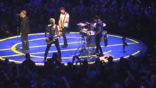 U2 - California (live) - Los Angeles Forum 2015 (first night) (Tuesday May 26) - Shaky 1:05-1:25