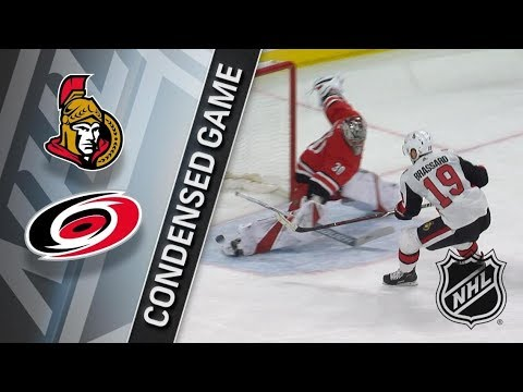Ottawa Senators vs Carolina Hurricanes – Jan. 30, 2018 | Game Highlights | NHL 2017/18. Обзор матча