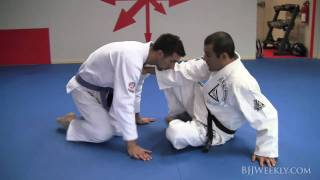 www.bjjweekly.com In this video Ryron Gracie shows us how he uses h...