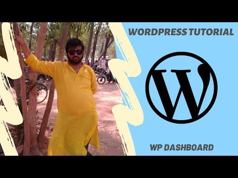 WordPress Tutorial - WordPress Dashboard thumbnail