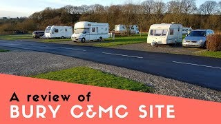 A review of Burrs Country Park Caravan and Motorhome Club Site, Bury