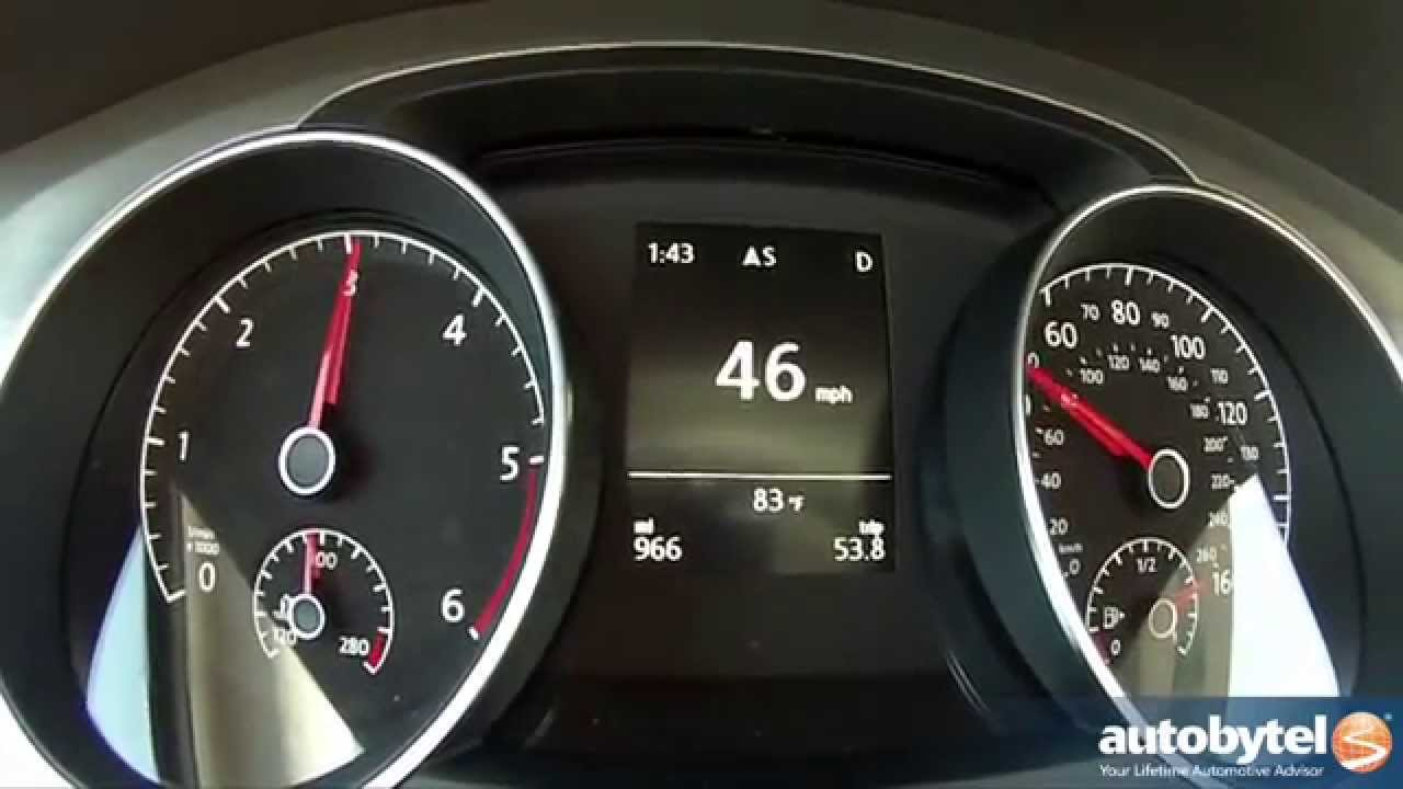 2017 Volkswagen Golf Tdi 0 60 Mph Test Video