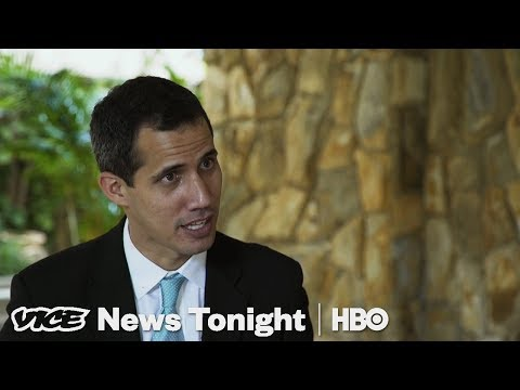 We Interviewed The Venezuelan Opposition Leader After Police Came To His House (HBO)