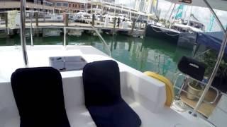 A Moorings 48 Charter Catamaran Walkthru