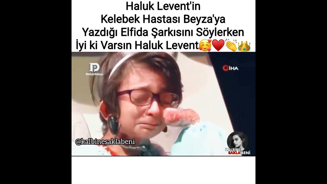 Haluk Levent'in Kelebek Hastası Beyzaya Elfida Şarkısını Söylerken🥰👏 #kalbinesaklabeni #haluklevent