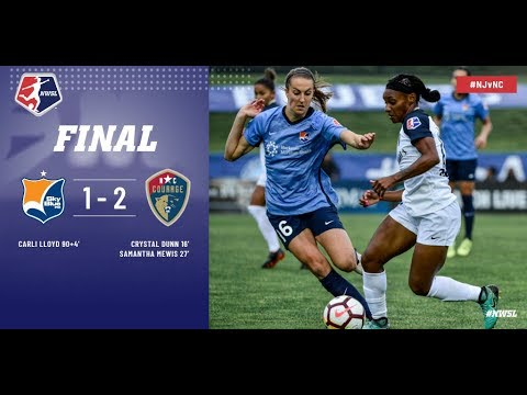 Highlights: Sky Blue FC vs. North Carolina Courage | May 19, 2018