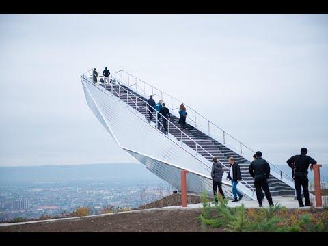 «Лестница в небеса»: в Грозном появилась новая смотровая площадка