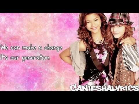 Shake It Up - Sibel Redžep - Our Generation (Lyrics Video) HD