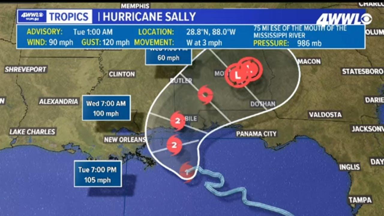 Live Hurricane Sally Updates