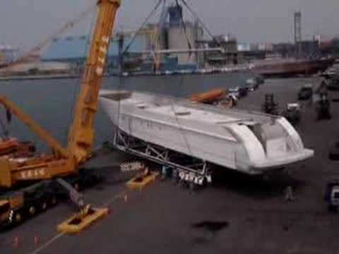 Premier Yacht 130' Moving
