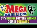 1.5 Billion Lottery Winner Comes Forward After Five Months