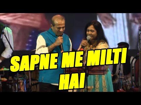 Sapne me milti hai by Suresh wadkar ji Live in Concert