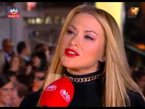 Anastacia Globos de Ouro SIC 18.05.2014 RED CARPET part 2 + interview