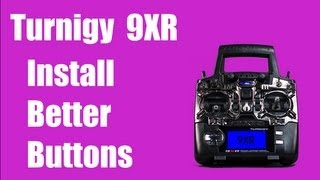 Turnigy 9XR - How to install better butt...