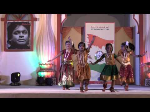 Performance # 03 (Ghallu Ghallenutha) by Sowmya's Group@ Global Village-Dubai_26 Mar 16