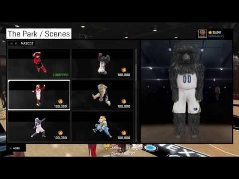 NBA 2K15 Mascots