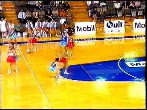 1995 Mobil Netball Super League Adelaide Garville V Adelaide Contax