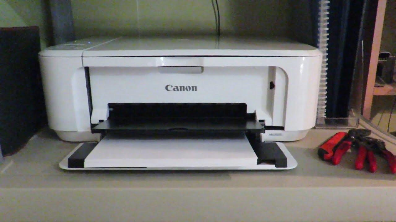 CANON PIXMA MG20S WIFI  Unboxing, Setup & Test