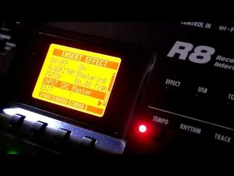 Zoom R8 multi track recorder and sequencer