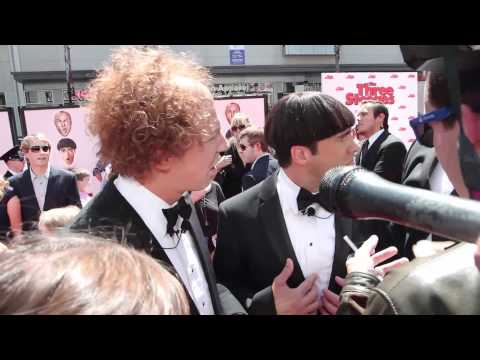 The Three Stooges Premiere Interviews