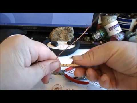 DIY WIRE SCULPTURE: Miniature Zen Garden Rake