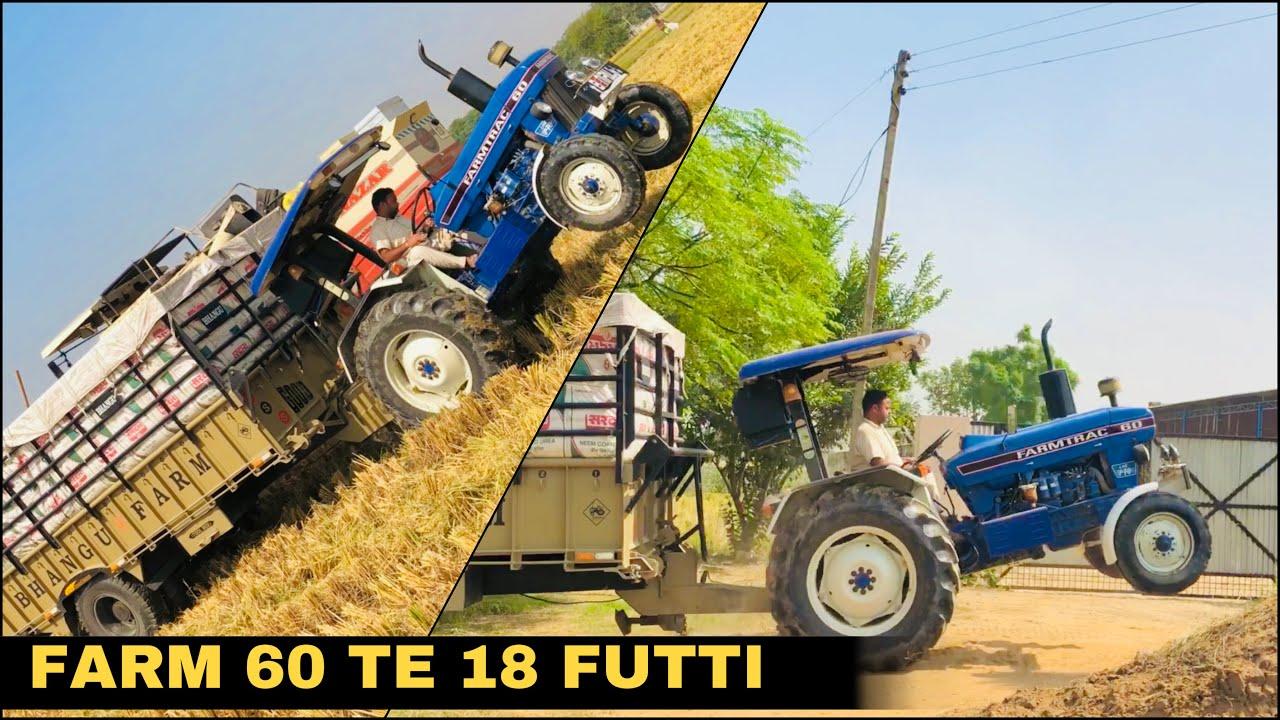 Farmtrac 60 • 18 Futti • Sava 127 ਦਾ ਝਾੜ • Teji Benipal