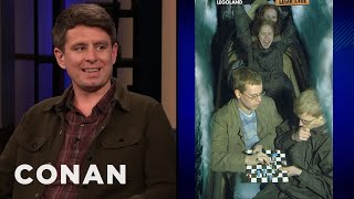 Randall Munroe's Comics Inspired Fans To Bring Chess Boards On Coasters - CONAN on TBS