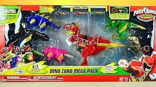 Power Rangers Dino Charge Dino Zord Mega Pack Review! thumbnail
