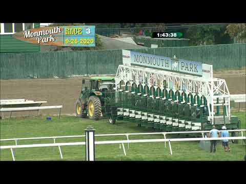 video thumbnail for MONMOUTH PARK 09-26-20 RACE 3