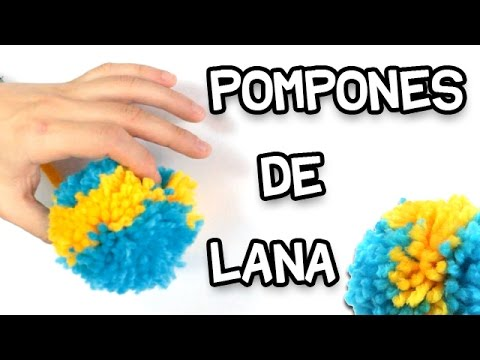 C mo hacer pompones de lana f cil y r pido doovi - Como hacer pompones de lana rapido ...