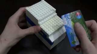 Механизм на прокачку (Ч.5): Лего карточный сейф (RUS)