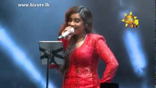Shreya Ghoshal Singing Sinhala Song - Tikki Tikiri Tikiri Sina