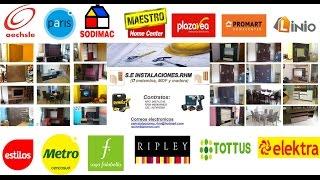 ARMADO DE ALACENAS DE MAESTRO PROMART METRO SODIMAC ELEKTRA 75e1ec61f5b9