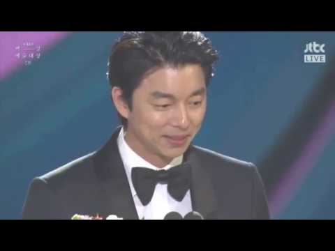 Gong Yoo Wins Best Actor Award (Drama)- 53rd Baeksang Arts Awards 2017