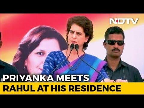 After Priyanka Visit, Congress Meet Today At Rahul Gandhi's