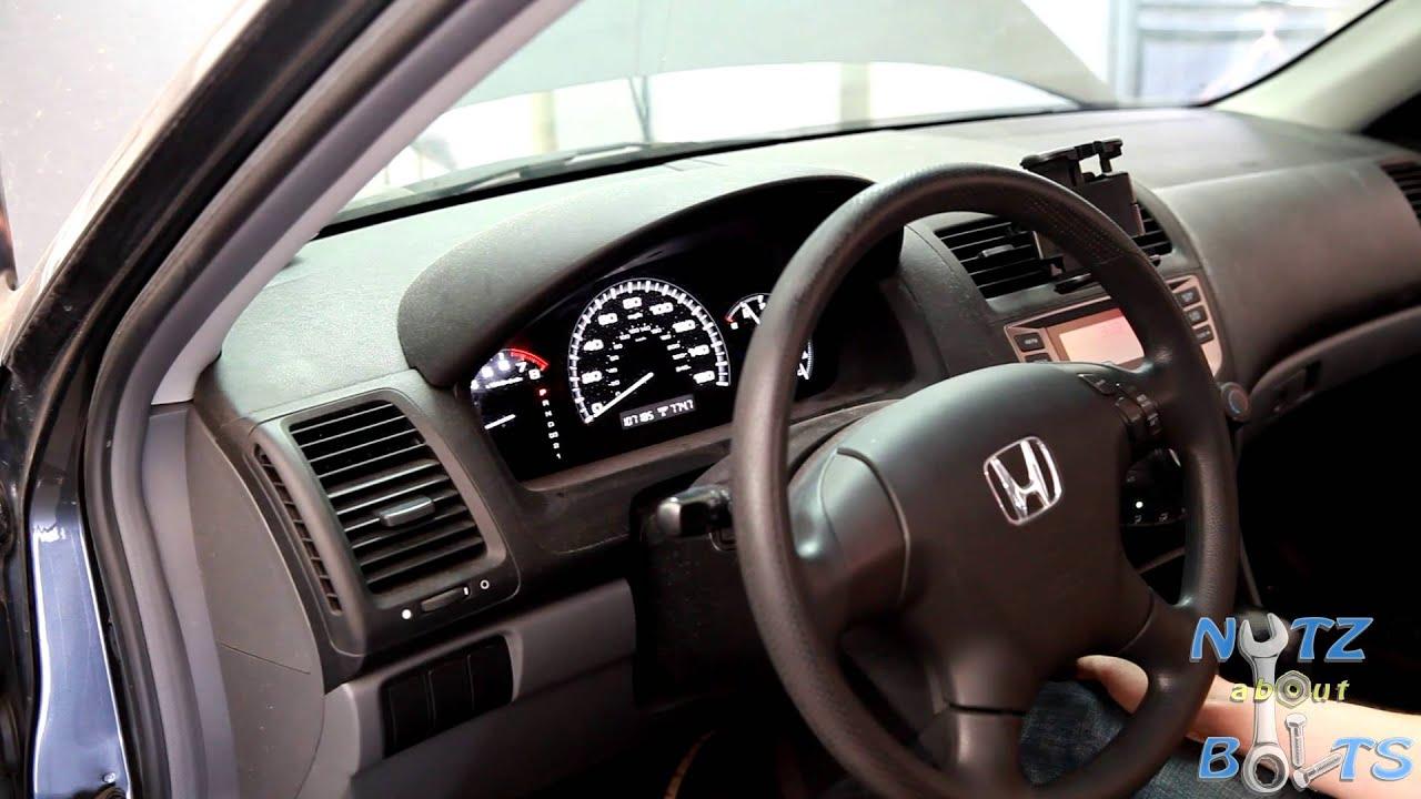 20032007 Honda Accord ECMPCM Idle Learn Procedure  YouTube