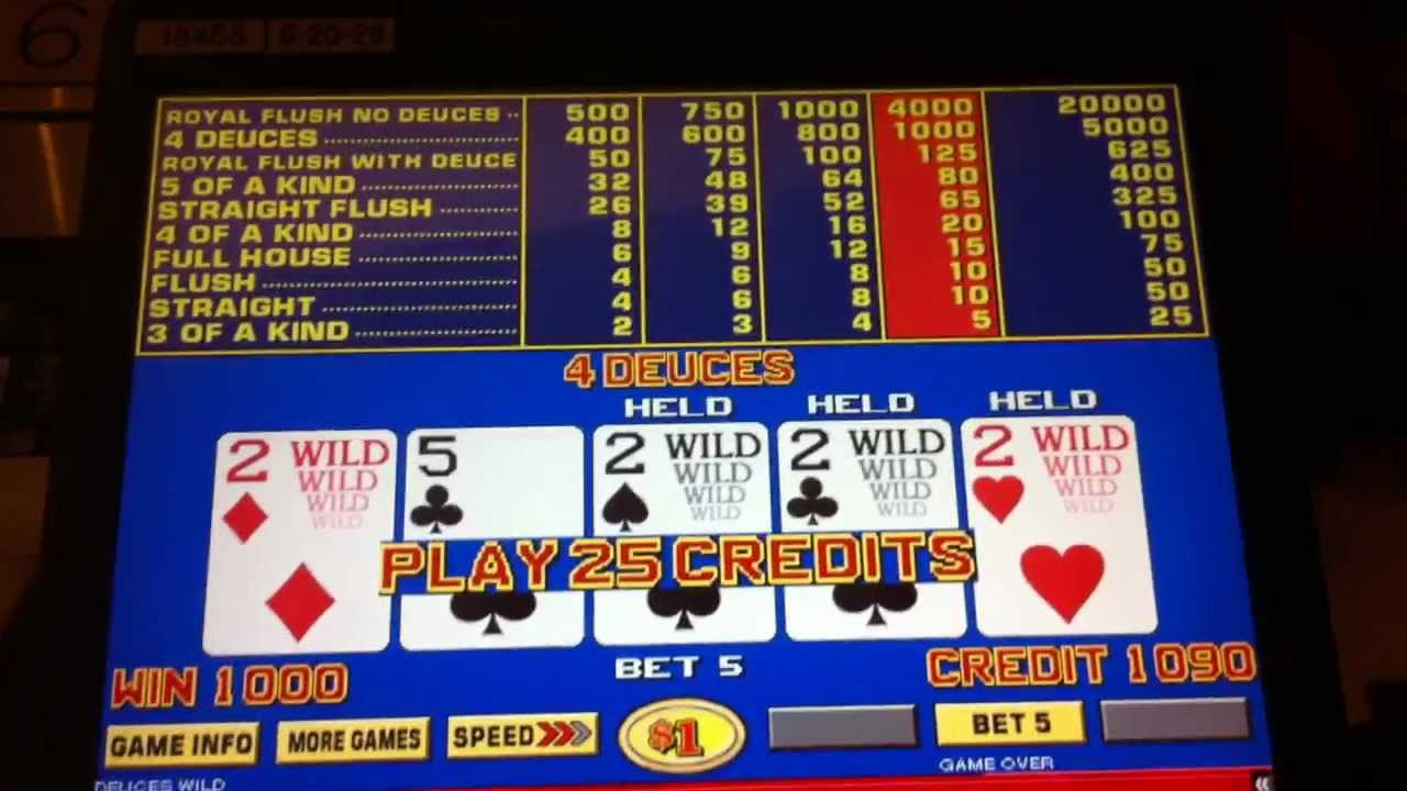 Spiele Bonus Deuces Wild - 3 Hands - Video Slots Online