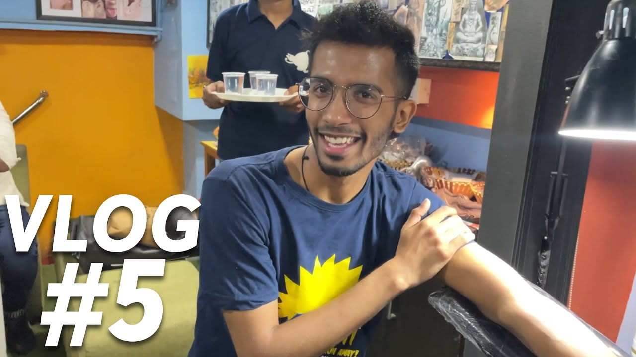 Does getting a tattoo hurt? | Solo Vlog #5